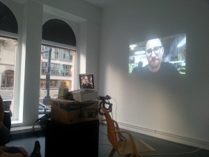 Skype in DAM-Gallery
